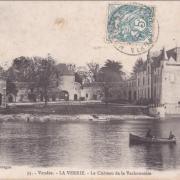 La Verrie, le château de la Vachonnière.