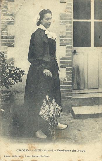 Croix-de-Vie, costume du pays.