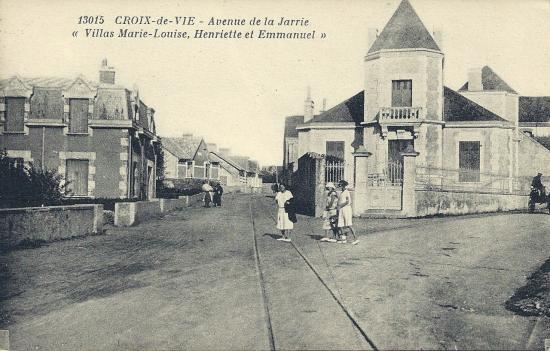 Croix-de-Vie, Avenue de la Jarrie.