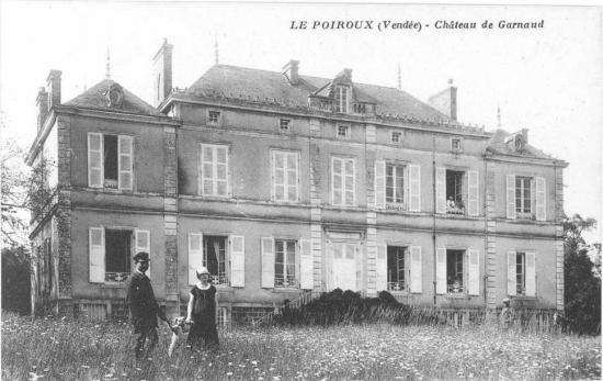 Le Poiroux, château de Garnaud.