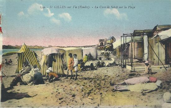 St-Gilles-sur-Vie, la cure de soleil à la plage.