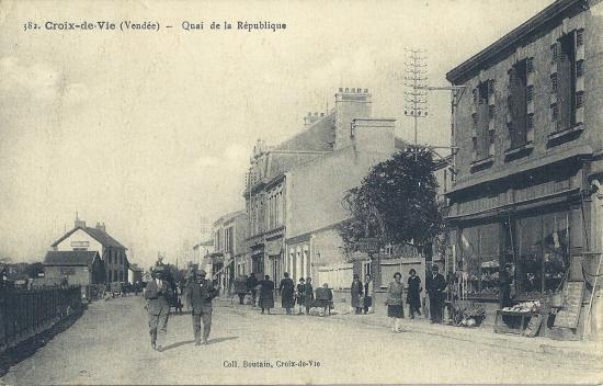 Croix-de-Vie, quai de la République.