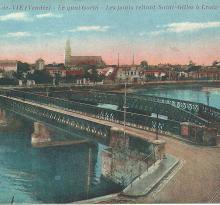 Croix-de-Vie, les ponts reliant St-Gilles à Croix-de-Vie.