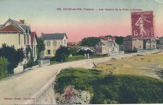 croix-de-Vie, les chalets de la Pellle à Porteau.