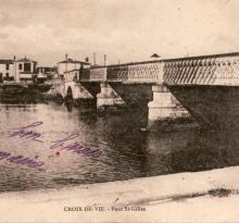Croix-de-Vie, pont de Saint-Gilles.