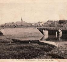 Croix-de-Vie, le pont sur La Vie.