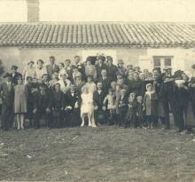St-Gilles-sur-Vie, mariage de mes grands-parents en 1928.