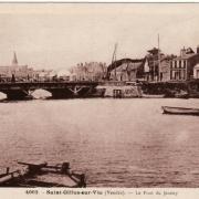Saint-Gilles-sur-Vie, le pont du Jaunay.