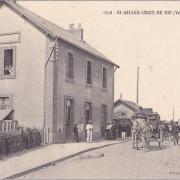 Saint-Gilles-Croix-de-Vie, la gare.