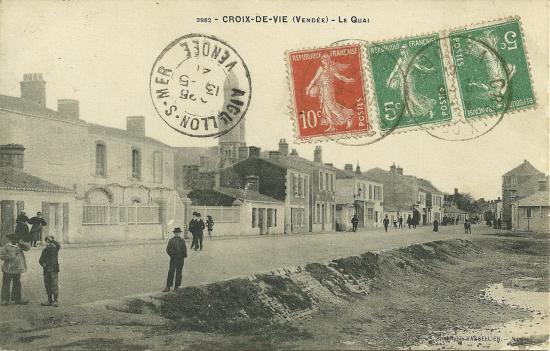 Croix-de-Vie, le quai.