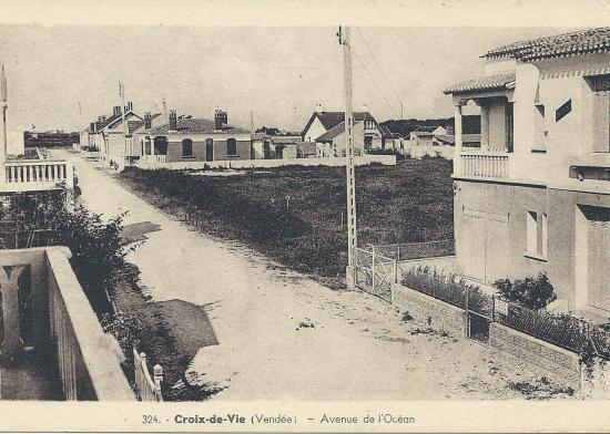croix-de-Vie, avenue de l'Océan.