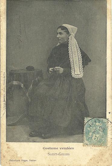St-Gilles-sur-Vie, costume vendéen.