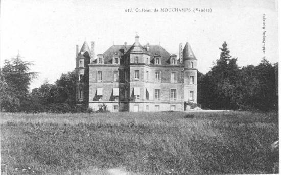 Mouchamps, le château.