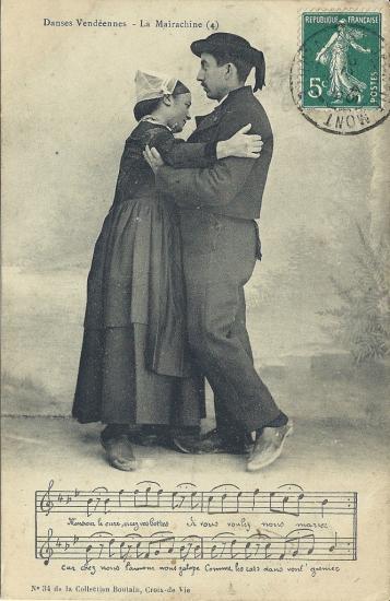Croix-de-Vie, danses vendéennes, la maraichine.