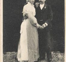 Les mariés de Mouchamps.