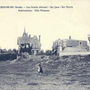 Croix-de-Vie, les chalets.
