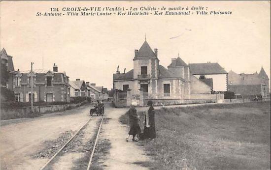 Croix-de'-Vie, villas de la corniche