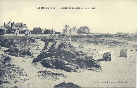 Croix-de-Vie, chalets de la côte de Boisvinet.