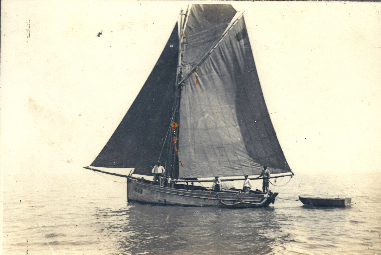 St-Gilles-sur-Vie, mon arrière-grand-Père, pêche à la sardine.