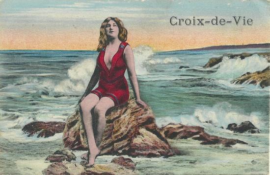 Croix-de-Vie, carte fantaisie.