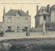 Croix-de-Vie, villas La Paisible, Bon Abri, Lucia et le Cottage.