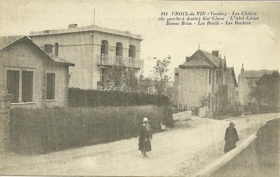 Croix-de-Vie, les chalets Ker Clara, L'abri côtier.
