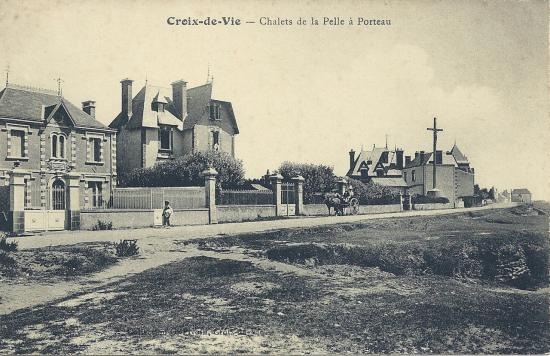Croix-de-Vie, les chalets de la Pelle à Porteau.