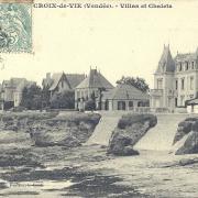 Croix-de-Vie, villas et chalets.