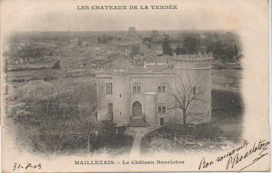 Maillezais, château Bourloton.