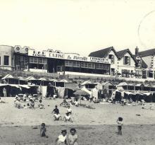 Plage de St-Gilles-sur-Vie, le casino.