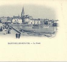 St-Gilles-sur-Vie, le pont.