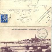 St-Gilles-sur-Vie, vue générale du port.