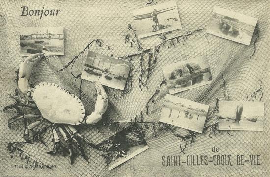 St-Gilles-Croix-de-Vie, un bonjour.