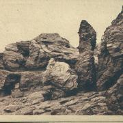croix-de-Vie, l'aiguille, rochers à Sion.