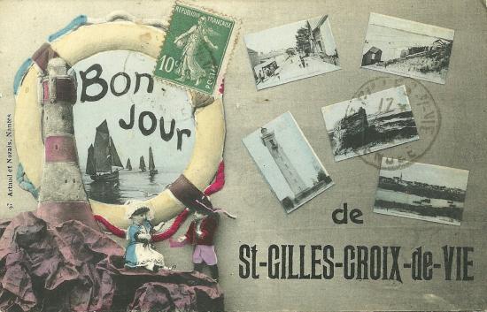 Un bonjour de St-GillesCroix-de-Vie.