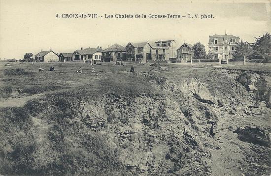 Croix-de-Vie, les chalets de la Grosse Terre.