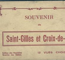 Carnet de 12 vues de St-Gilles et Croix-de-Vie.