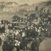 Saint-Gilles-Croix-de-Vie, mi-carême en 1926.