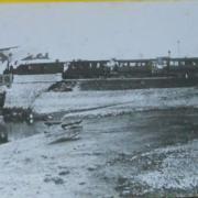 Le petit train sur le pont