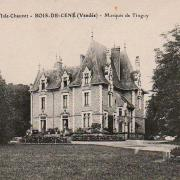 Bois-de-Céné, château de l'Isle Chauvet.
