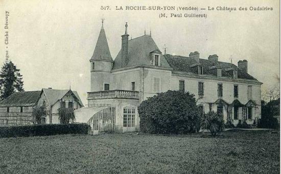 La Roche-sur-Yon, château des oudairies.