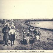 Croix-de-Vie, vue générale de la plage.