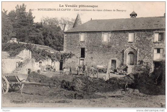 Mouilleron-le-Captif, château de Beaupuy.