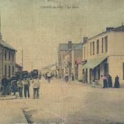 Croix-de-Vie, la gare.