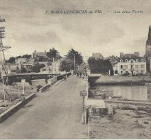 St-Gilles-Croix-de-Vie, les deux ponts.