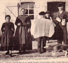 Un baptême aux marais vendéens.