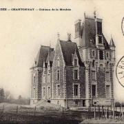 Chantonnay, le château de la Mouhée.