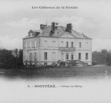 Boufféré, château du Hallay.