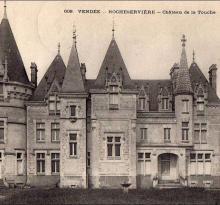 La Rocheservière, le château de la Touche.