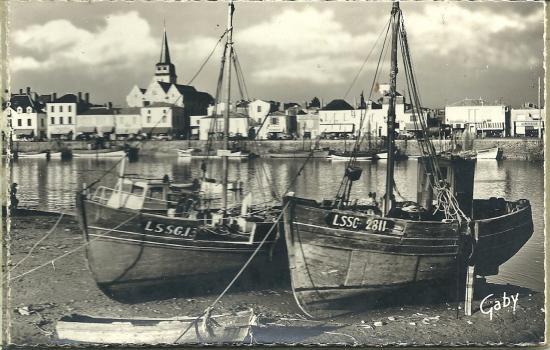 St-Gilles-Croix-de-Vie, le port.